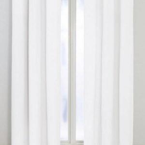 Colour Rengasverhot 2-Pakkaus Valkoinen