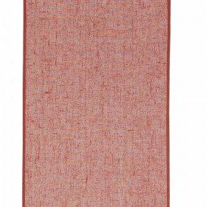 Ellos Paneeliverhot Pellavavoileeta Punainen Leveys 45 Cm 2-Pakkaus