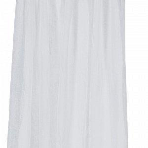 Ellos Piilolenkkiverhot Pellavavoileeta Valkoinen 2-Pakkaus