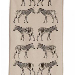 Ellos Zebra Paneeliverhot 2-Pakkaus