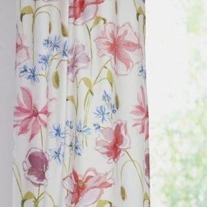 Fleur Solmimisnauhaverhot 2-Pakkaus Roosa