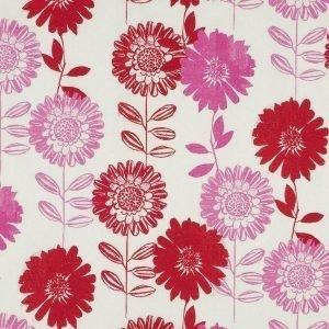 Flower Patch Kangas / M Punainen