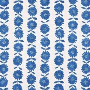 Flower Patch Kangas / M Sininen