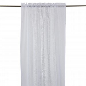 Hemtex Adriane Curtain With Head And Verho Kermanvalkoinen 140x240 Cm