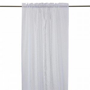 Hemtex Adriane Curtain With Head And Verho Kermanvalkoinen 140x240 Cm