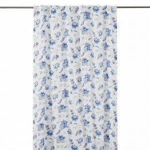 Hemtex Amelie Piilolenkkiverho Sininen 120x240 Cm