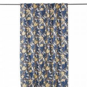 Hemtex Augusta Curtain With Hidden Lo Verho Multi 120x240 Cm