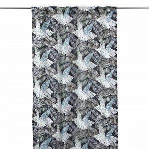 Hemtex Blad Sivuverho Monivärimusta 120x240 Cm