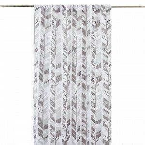 Hemtex Bon Curtain W Hidden Loops Verho Harmaa 120x240 Cm