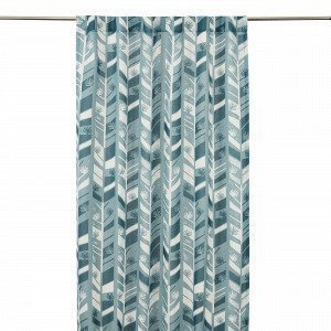 Hemtex Bon Curtain W Hidden Loops Verho Vihreä 120x240 Cm