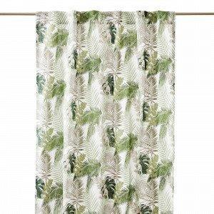 Hemtex Borneo Curtain Verho Vihreä 120x240 Cm
