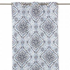 Hemtex Carmen Purjerengasverho Sininen 120x240 Cm