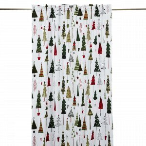 Hemtex Christmas Tree Curtain With He Verho Multi 120x240 Cm