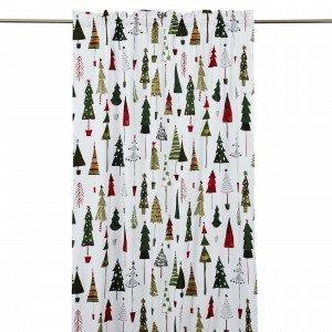 Hemtex Christmas Tree Curtain With He Verho Multi 120x240 Cm