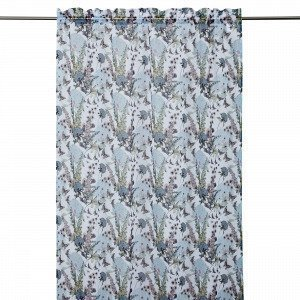 Hemtex Foxglove Curtain With Head And Verho Monivärivalkoinen 140x240 Cm