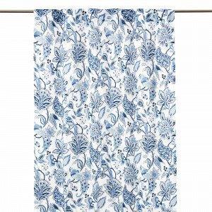 Hemtex Francine Piilolenkkiverho Sininen 120x300 Cm