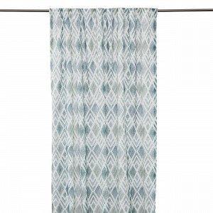 Hemtex Granit Curtain W. Multi Tape Verho Vihreä 140x240 Cm
