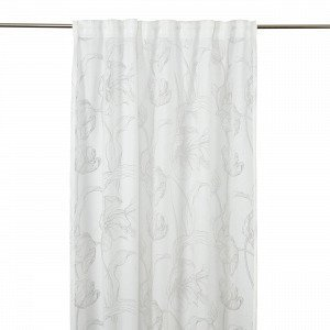 Hemtex Haag Curtain W. Multi Tape Verho Valkoinen 140x240 Cm
