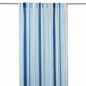 Hemtex Leonora Piilolenkkiverho Sininen 140x240 Cm