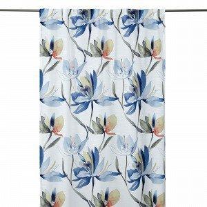 Hemtex Lotus Curtain With Hidden Loop Verho Harmaa 140x240 Cm
