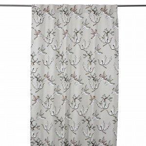 Hemtex Meiko Piilolenkkiverho Vaaleanbeige 120x240 Cm