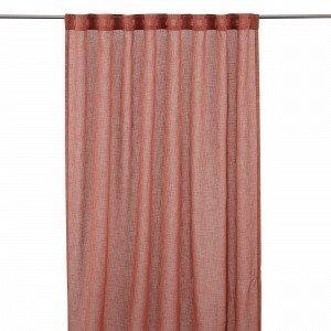 Hemtex Otto Plain Piilolenkkiverho Englanninpunainen 140x240 Cm
