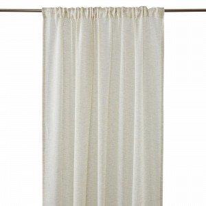 Hemtex Otto Tape Curtain Piilolenkkiverho Beige 140x300 Cm