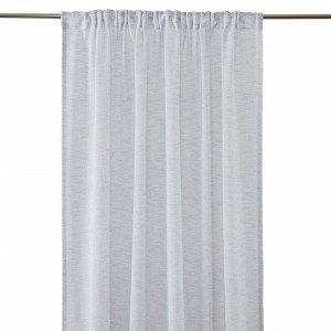Hemtex Otto Tape Curtain Piilolenkkiverho Harmaa 140x300 Cm
