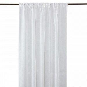 Hemtex Otto Tape Curtain Piilolenkkiverho Kermanvalkoinen 140x300 Cm