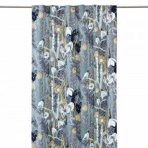 Hemtex + Plingsulli Florentine Piilolenkkiverho Moniväriharmaa 120x240 Cm