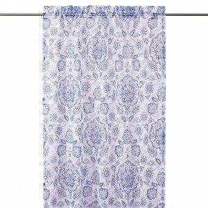 Hemtex Vanessa Sivuverho Sininen 120x240 Cm