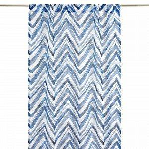 Hemtex Zacke Laskosnauhaverho Sininen 120x240 Cm