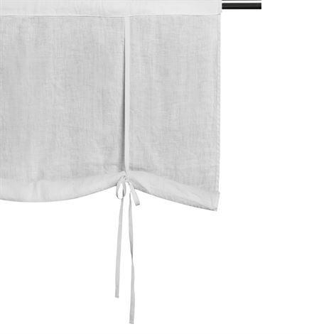 Himla Sunshine 1700-Luvun Verho Tankokujalla Valkoinen 110x120 cm