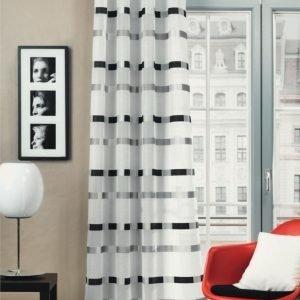 Home Wohnideen Rengasverho Musta / Valkoinen