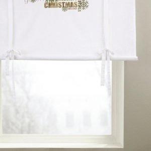 Jotex Christmas Greetings Laskosverho Valkoinen