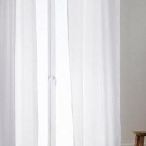 Jotex Colour Rengasverhot Ekologinen Valkoinen 2-Pakkaus