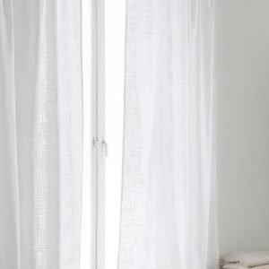 Jotex Hilda Sivuverhot Valkoinen 2-Pakkaus