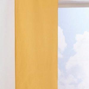 Jotex Kulör Paneeliverhot Keltainen 2-Pakkaus
