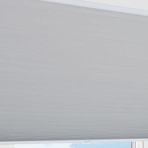 Kirsch Nora Pimentävä Laskoskaihdin Harmaa 130x160 Cm