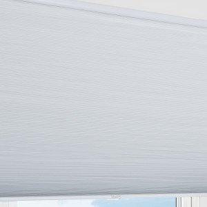 Kirsch Nora Pimentävä Laskoskaihdin Valkoinen 110x160 Cm