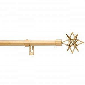 Kirsch Star Verhotankosetti Kulta 120-210 Cm