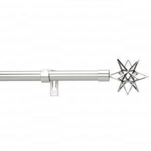 Kirsch Star Verhotankosetti Ruostumaton Teräs 120-210 Cm