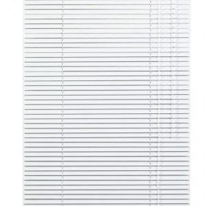 Lichtblick Sonnenschutzsysteme Alumiininen Sälekaihdin Valkoinen
