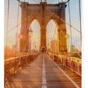 Lichtblick Sonnenschutzsysteme Pingotettava Rullaverho Brooklynin Silta Oranssi