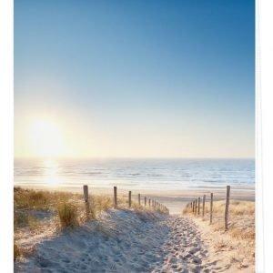 Lichtblick Sonnenschutzsysteme Pingotettava Rullaverho Itämeren Ranta Sininen