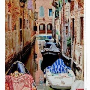 Lichtblick Sonnenschutzsysteme Pingotettava Rullaverho Venetsian Gondoli Punainen