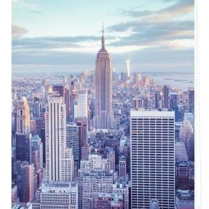 Lichtblick Sonnenschutzsysteme Rullaverho New York Sininen