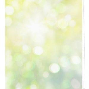Lichtblick Sonnenschutzsysteme Rullaverho Valoleikki Vihreä / Keltainen