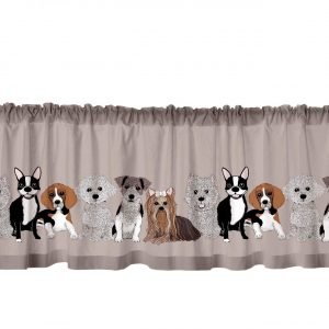 Vallila Doggies Kappa Clay 60x250 Cm