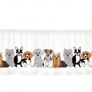 Vallila Doggies Kappa Valkoinen 60x250 Cm